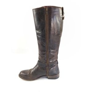 Shoes - Leather Riding Boots Sz 9.5 | Distressed Boho